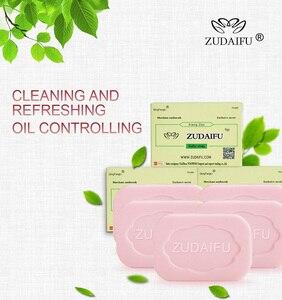 Image 4 - 3PCS ZUDAIFU Sulfur Soap Skin Conditions Acne Psoriasis Seborrhea Eczema Anti Fungus Bath Cream dermatitis Antibacterial