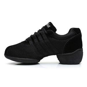 Image 4 - DIPLIP ใหม่โมเดิร์นรองเท้าเต้นรำด้านล่างนุ่ม JAZZ รองเท้าเต้นรำรองเท้ากลางแจ้ง Breathable รองเท้าผู้หญิงขนาด 34  45