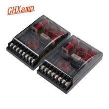 GHXAMP 3 Way głośnik samochodowy Crossover 150W głośnik wysokotonowy głośnik niskotonowy samochodowy sprzęt Audio głośniki dzielnik 3 Way Divider 2 sztuk