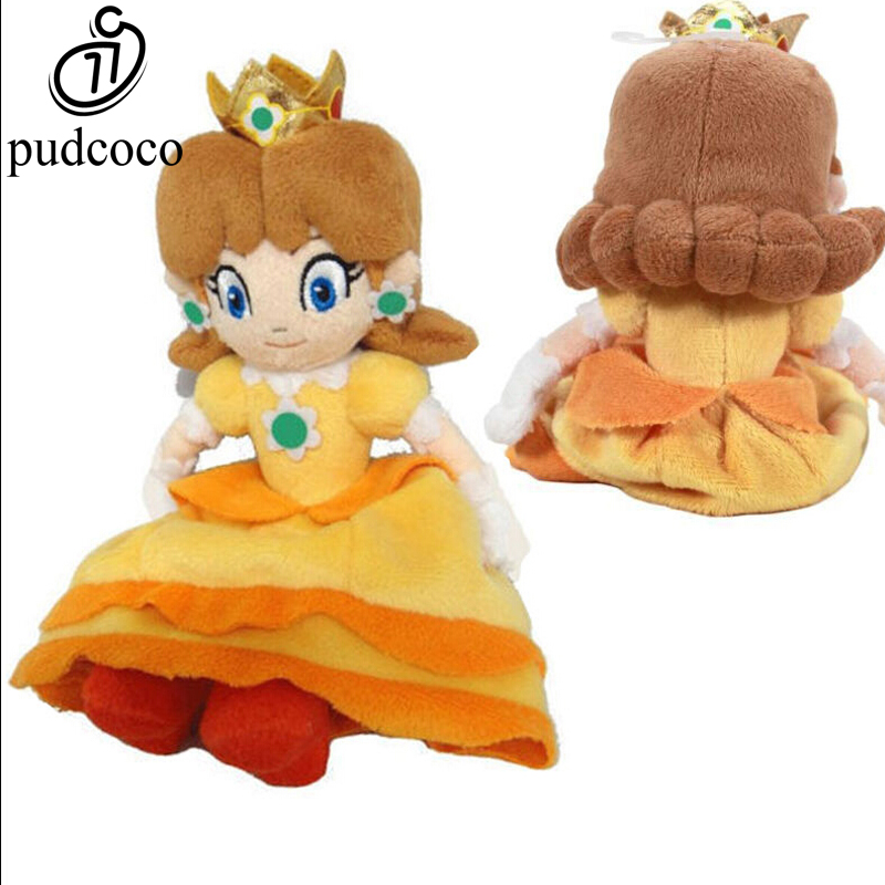 Super Mario Bros peach cat 7 inch Plush Kid Stuffed Animal