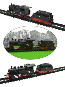 1PC HO 1/87 Scale Model German Initial European Steam Locomotive Train For Diorama Architecture