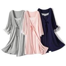 New Maternity Nightwear Women Nursing Pyjama Nursing Sleepwear Dress Women Pink For Pregnant Pregnancy Nightwear Drop Shipping