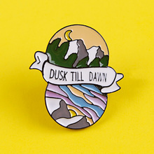 Adventure Brooches Outdoor Badges for Backpack Mountain Badges for Clothes Enamel Pins for Backpacks Clothes Lapel Pin Badge DIY planets badges for backpack universe brooches space man badge enamel pins for backpacks badges for clothes clothes lapel pin diy