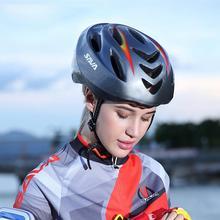 Waterproof Damping Road Cycling Helmets Breathable Smart Steering Detachable Mountain Bike MTB Helmet USB Chargeable