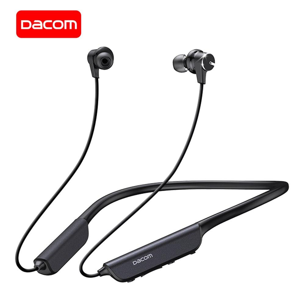 DACOM L54 ANC Bluetooth наушники активного шумоподавления IPX7 водонепроницаемый Беспроводные наушники Встроенный микрофон для iPhone Samsung