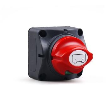 Selector de batería para coche, 12V-60V, 100A-300A, aislador de desconexión, interruptor giratorio de corte 2