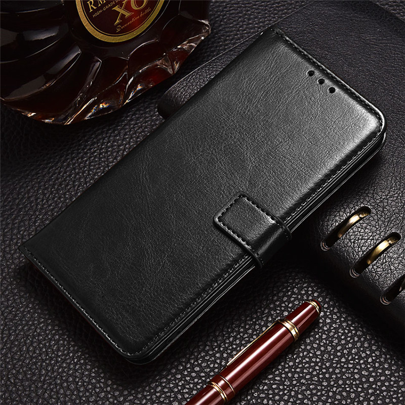 Leather Case for <font><b>Samsung</b></font> <font><b>Galaxy</b></font> <font><b>Win</b></font> <font><b>i8550</b></font> i8552 Ace 4 3 Style Lte G357 S5830i S7270 S7272 S7275 Protective Card Holder Cover image