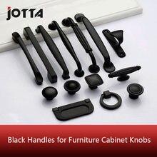 Черные ручки для мебели шкафа кухонные ящика