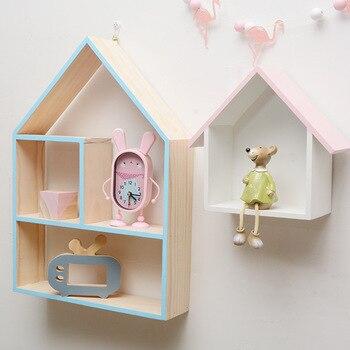 Caja de montaje de madera, soporte para colgar en la pared, decoración...