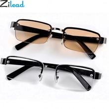 Zilead Классическая Металлическая полуоправа солнцезащитные очки с диоптриями Стекло линз, аксессуары для глаз, Стекло es Prebyopia очки для мужские и женские солнцезащитные очки