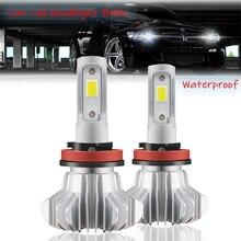 Car Headlights Led Hi/Low Beam COB Combo Auto Headlamp Bulbs S9 6000K H1 H3 H7 H8/H9/H11 9005 9006 H4 Led Headlight Bulb for Car brand new led kits for h8 h9 h11 led headlight bulbs 50w high power led 6000k white car headlights bulbs 10000lm fog headlamp