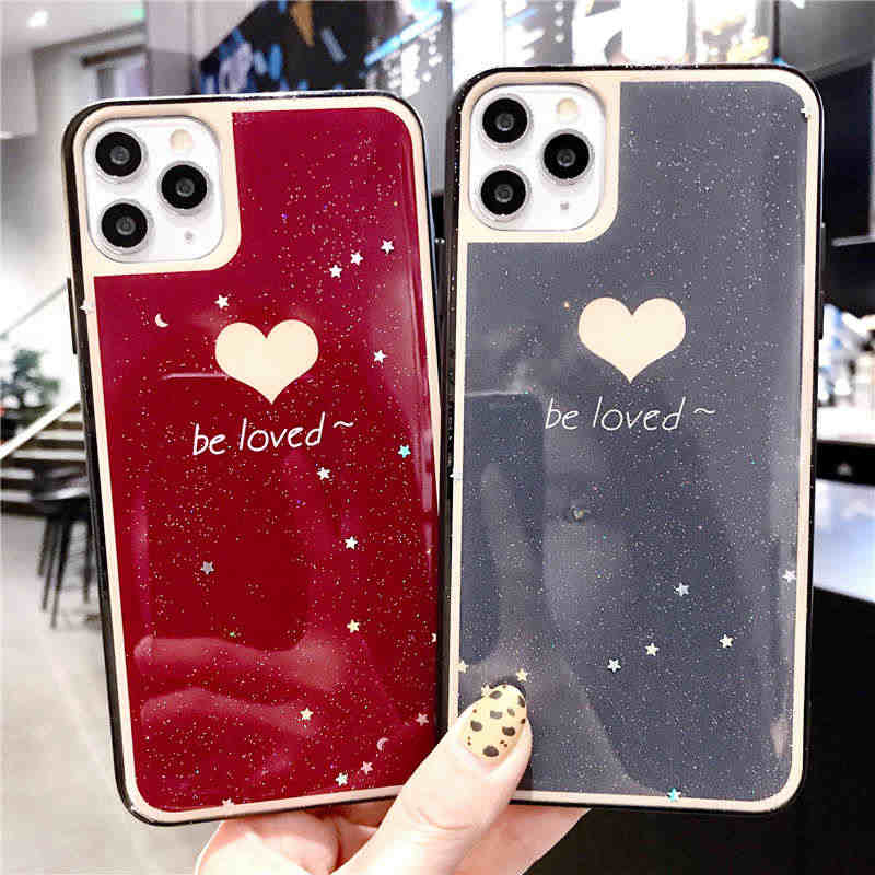 Glitter Love Heart Soft Case For OPPO Reno Z 2 K5 A9 2020 A73 A59 A57 A83 K3 F11 F9 A7 A5 A3 R17 R9 R9S R11 R11S Plus A79 Cover