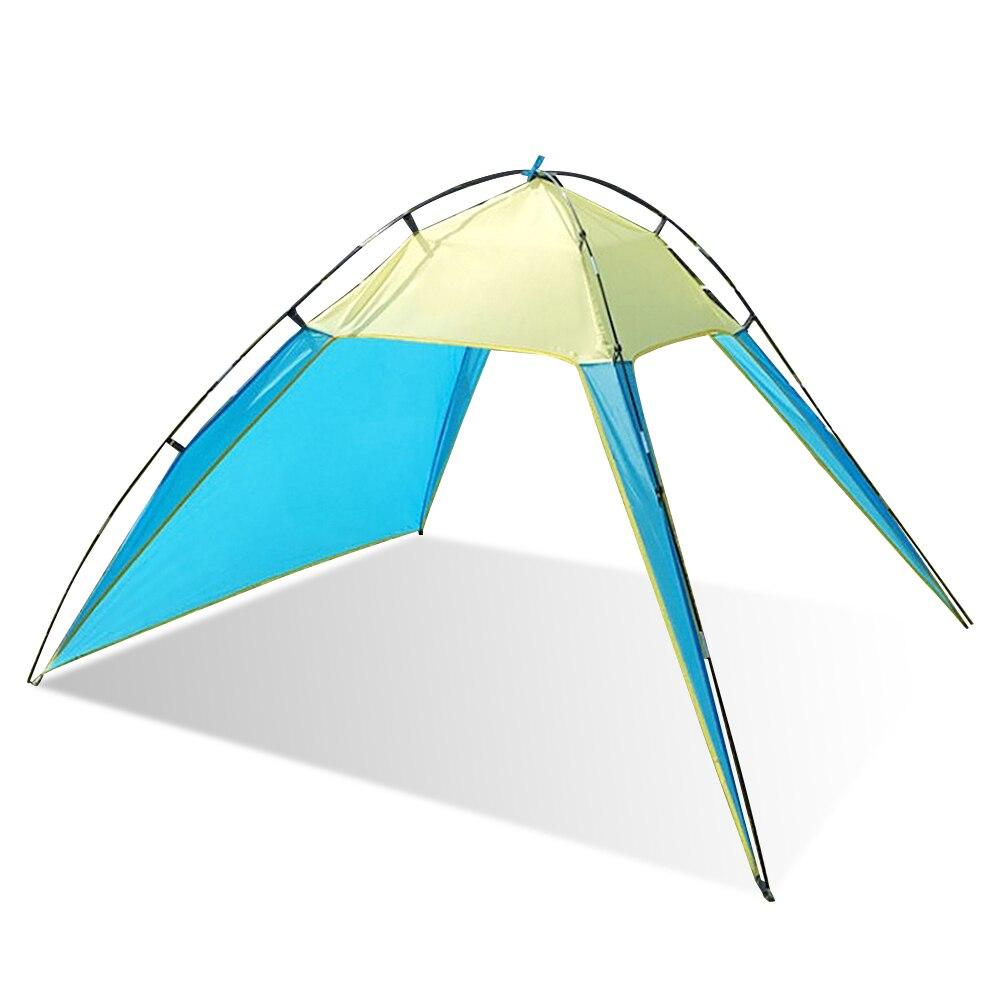 Strand Zelt Im Freien UV Schutz Sonnenschutz Shelter für Camping Wandern Angeln verwendung als ultraleicht plane sonnenschirm dach zelt
