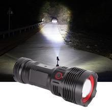 USB Charging High Bright LED Flashlight Outdoor Waterproof Torch For Camping Emergency self Defense Flashlight traditional hand crank dynamo solar powered rechargeable led camping emergency flashlight torch night cycling self defense