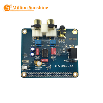 Raspberry Pi 4 Model B PiFi DAC+ V2.0 Sound Card Acrylic Case Audio Board Box Shell RPI167