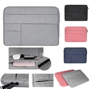 """Image 1 - Funda macbook air 용 가방 케이스 13 11 12 15 15.6 """"노트북 가방 남성용 노트북 컴퓨터 남성용 간단한 사무실 비즈니스 가방 dell hp"""