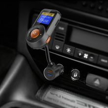 New Bluetooth MP3 Car MP3 Player Positioning Hands-free Call Kit FM Transmitter MP3 Player APP Car Locator-210199 Car Audio(