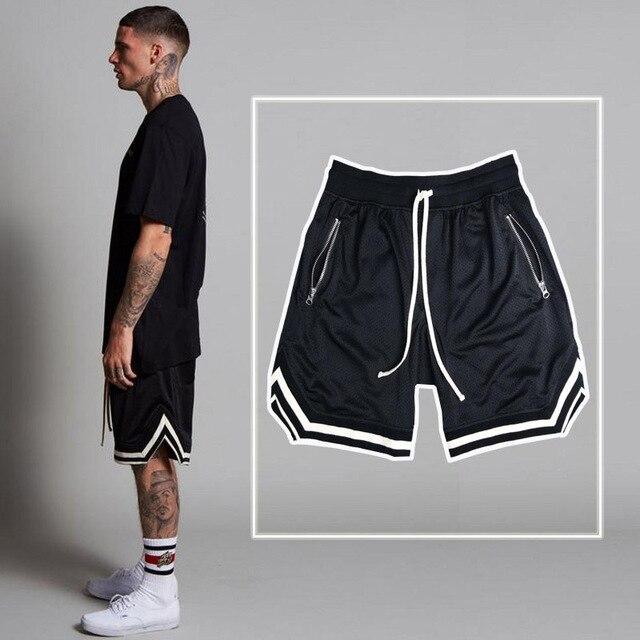 Hirigin 2020 Men's Casual Shorts Summer New Running Fitness Fast-drying Trend Short Pants Loose Basketball Training Pants