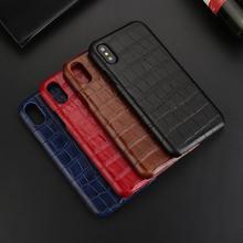 Caso de couro genuíno para o iphone x 11 12 pro caso max para 12 mini capa moda coque para iphone xs max xr 7 8 plus se 2020 casos