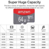 Micro SD TF Card 32 64 128 256 GB classe 10 scheda di memoria Flash 8GB 16GB 32GB 64GB 128GB 256 GB Microsd per adattatore Smartphone