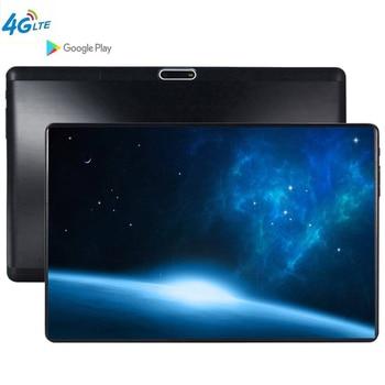 6000mAH 10.1 Pollici Tablet Android 9.0 MT6753 Octa Core Ram 6GB di ROM 64GB 5MP 3G 4G LTE SIM Tablet PC Wifi GPS bluetooth del telefono