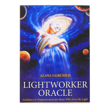 hot selling light wotker Oracle Cards Board Deck Games Palying Cards For Party Game