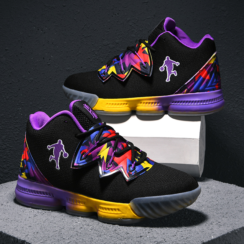Men Jordan Basketball Shoes Air Cushioning Men's James Basketball Sneakers Lebron Basketball Shoes Combat Boots Outdoor Male New-in Basketball Shoes from Sports & Entertainment