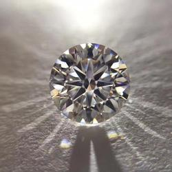 D color 9mm Round Brilliant Cut Loose moissanite VVS1 Grade Ring Jewelry Making Stone earrings material 3ct
