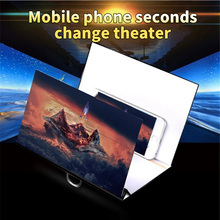 Magnifier Mobile-Phone-Screen Desktop-Holder Folding for Xiaomi HD Universal