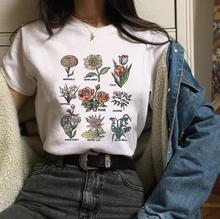 T-shirt z nadrukiem słonecznika T-shirt z nadrukiem 90s T-shirt z nadrukiem Harajuku T-shirt z nadrukiem bawełnianym Van gogha tanie tanio save the bees COTTON NONE List Krótki REGULAR Suknem O-neck Na co dzień