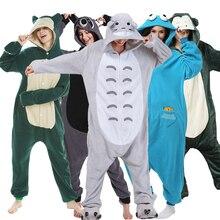 XXL180-200CM Men One-Piece Pajamas Women Cartoon Onesie For Adult Animal Kigurumi Raccoon Pijama Sleepwear Cosplay Party Costume