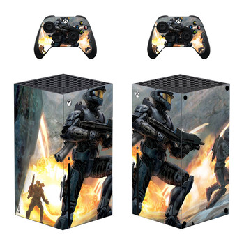 Custom Design Game Skin Sticker Decal Cover for Xbox Series X Console and 2 Controllers Xbox Series X Skin Sticker Vinyl 1