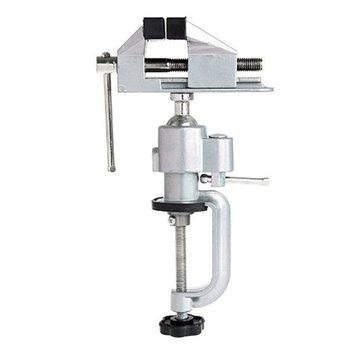 цена на 2 in 1 Table Vise Bench Vice Aluminium Alloy 360 Degree Rotating Universal Vise Precise Mini Vise Clamp Alloet