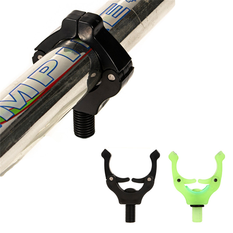 2PCS Fishing Rod Rest Butt Rest Gripper Head Grips Fishing Rod Holder Fishing Tackle Tools Luminous Gripper Grip