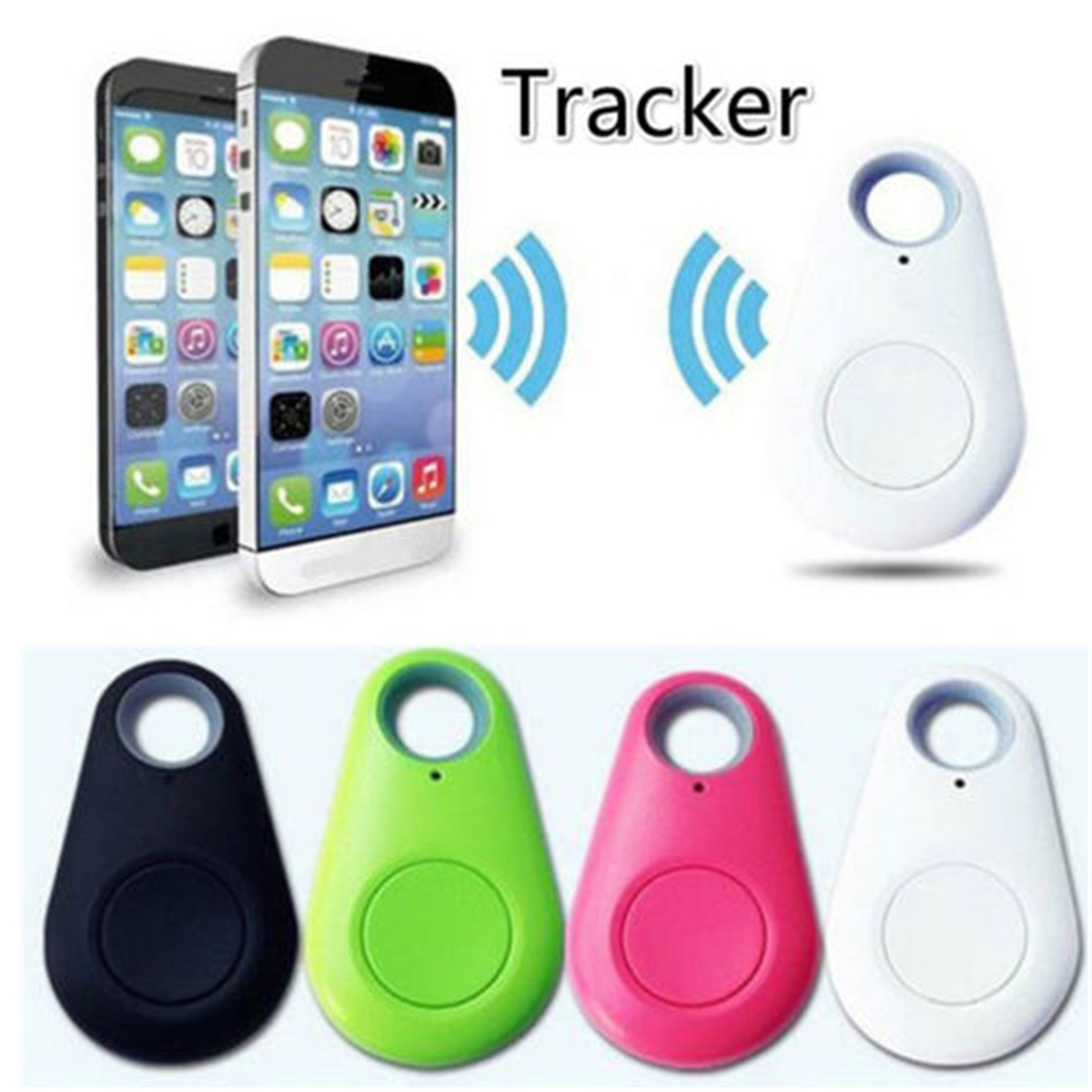 Smart Bluetooth Anti-Lost Device Mini Finder Device GPS Tracking Finder Device Auto Car Pets Kids Motorcycle Tracker Track