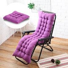Coussin d'assise long pour siège inclinable, pour chaise de bureau, de couleur unie, moelleux, confortable, différentes tailles disponibles