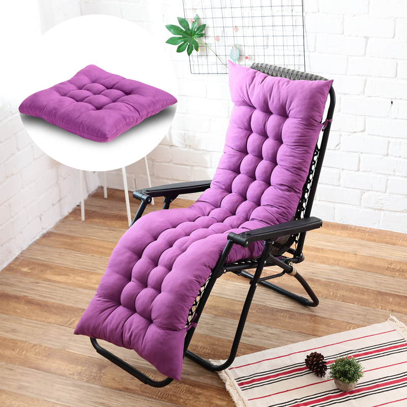 Solid Color Cushion Soft Comfortable office Chair seat cushions Reclining chair cushion Long cushion Various sizes are available title=