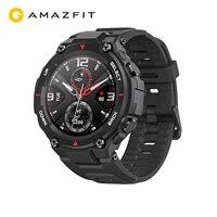 Amazfit-reloj inteligente t-rex para hombre, Original, GPS, reloj inteligente para exterior, resistente al agua, 20 días de batería, para iOS y Android