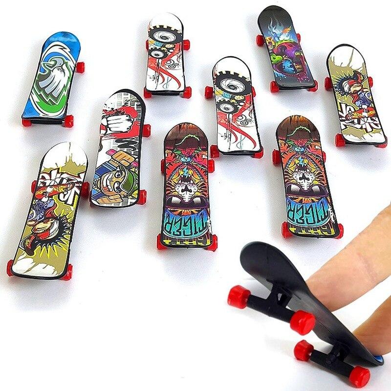 3pcs/set Kids Children Creative Fingertip Movement Mini Finger Board Fingerboard Skate Boarding Toys Children Gifts Party Favor