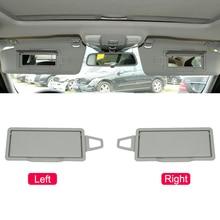 Car Interior Sun Shade Visor Makeup Mirror Trim Cover For Mercedes Benz W204 X204 C200 GLK300 E/GLK Class 2008 2014