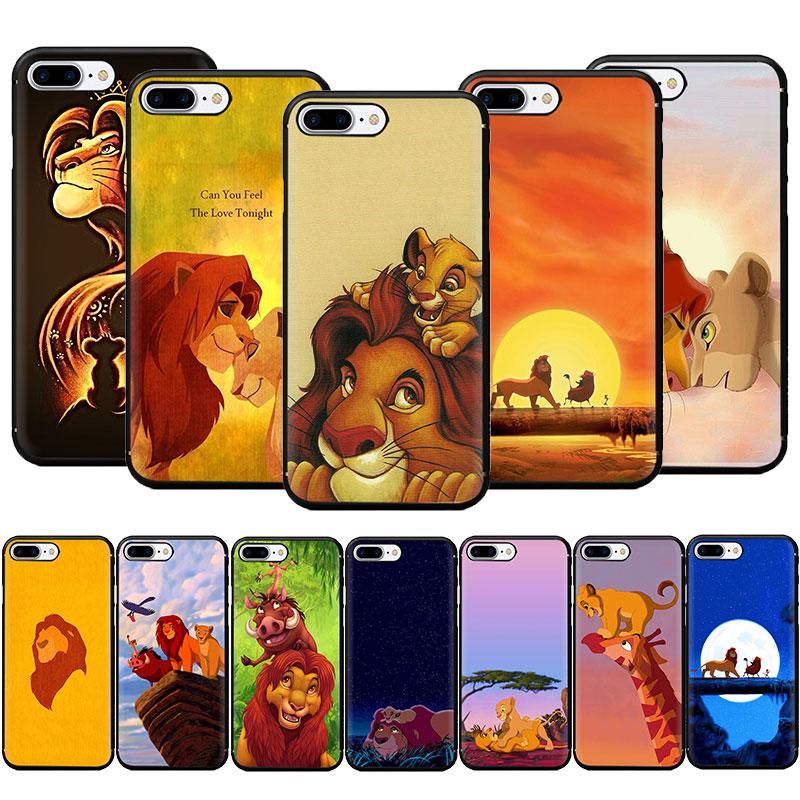 The <font><b>Lion</b></font> <font><b>King</b></font> Best Coque Shell Luxury Soft TPU Phone <font><b>Case</b></font> for <font><b>iPhone</b></font> 11 Pro 5 5s <font><b>6</b></font> 6s 7 8 Plus X XR XS MAX image