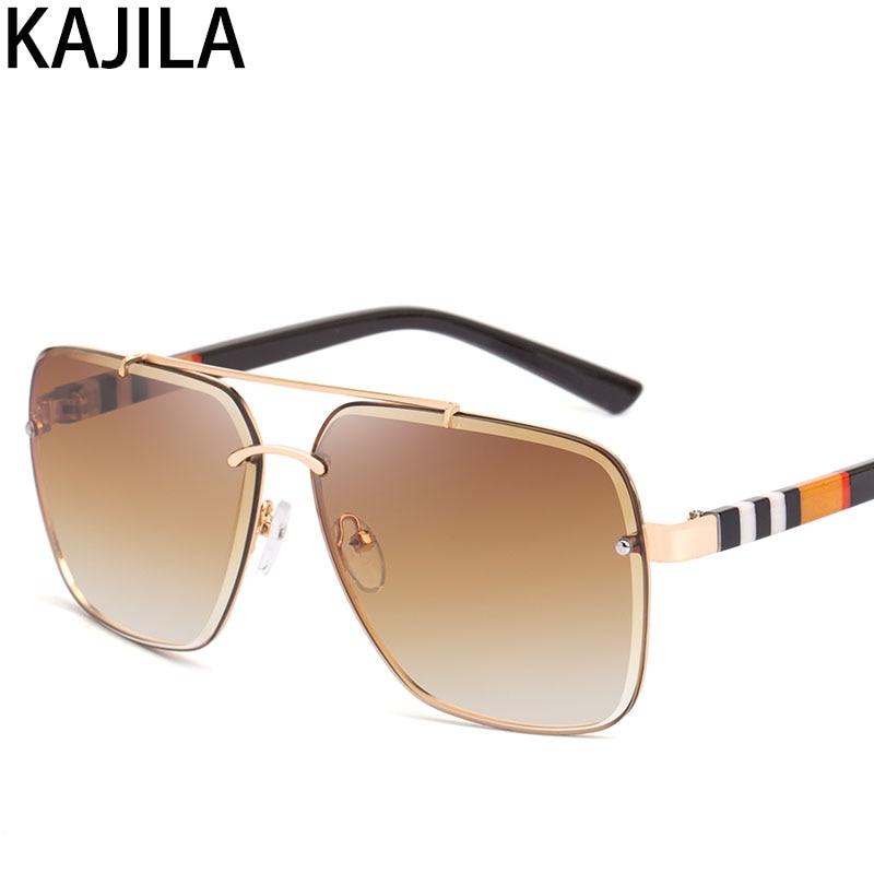 Lunettes de soleil carrées pour hommes et femmes, marque de luxe, styliste, mode, tendance, tendance, lunettes de soleil carrées pour femmes, 2020