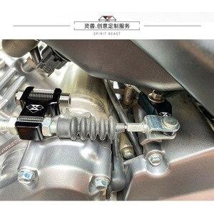 Image 2 - Geist Beast Motorrad Kupplung extender geändert teile Für Suzuki GSX 250R DL250 GW250 Haojue DR300 montieren kupplung hilfs teile