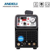 ANDELI TIG Welding Machine CT-520DPL CUT/COLD/TIG/MMA/Pulsed 5 in 1 220V TIG Welder Built-in Oil-water Separator Gas Regulator