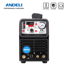 ANDELI TIG Welding Machine CT-520DPL CUT/COLD/TIG/MMA/Pulsed 5 in 1 220V TIG Welder Built-in Oil-water Separator Gas Regulator