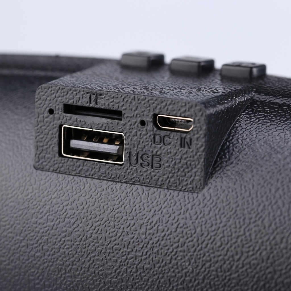 רמקול אלחוטי נייד אלחוטי Bluetooth רמקולים תומך TF כרטיס FM USB נגן מוסיקה עבור מקורה חיצוני פעילויות