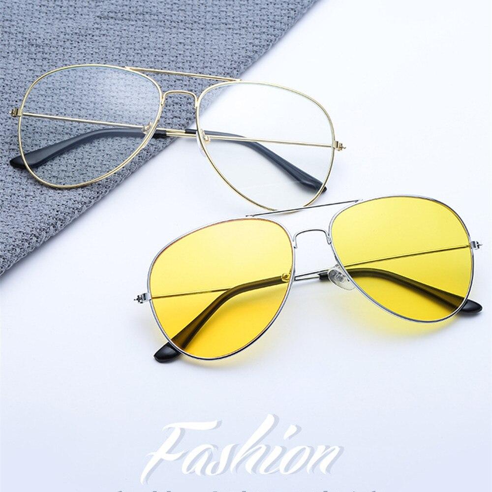 Parlama önleyici polarize güneş gözlüğü bakır alaşımlı araba sürücüleri gece görüş gözlüğü polarize sürüş gözlükleri oto aksesuarları очки