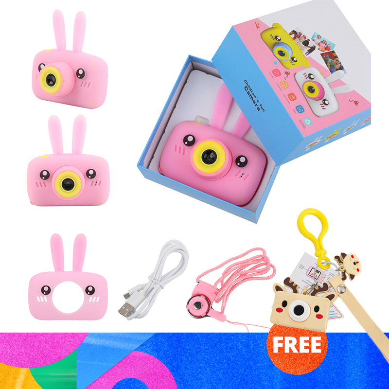 Children Camera Mini Digital Full Screen Display HD Portable Video Camera Educational Toys Baby Birthday Present Outdoor Games