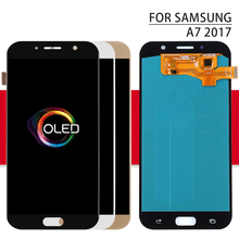 For Samsung Galaxy A7 2016 A710 display lcd A710F A710M AMOLED Phone LCD Display