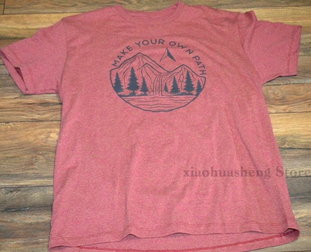 Make Your Own Path Tee Mens Sonoma Goods For Life T-Shirt Outdoors Adventure 100% cotton men T shirt Women Tops tee